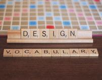 Scrabble® Themed AIGA Design Vocabulary Book