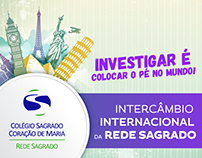 Intercâmbio Internacional da Rede Sagrado