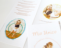 flyer for Mio Unico