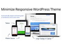 Minimize Responsive WordPress Theme