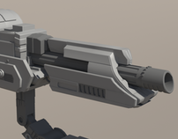 Predator Shoulder Cannon