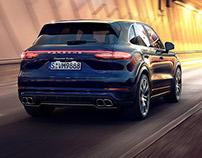 Porsche Cayenne GB - CGI & Retouching