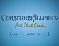 Conscious Alliance business cards