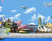 Web Design Site: Travel