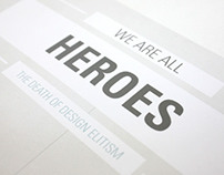 We are all Heroes