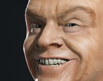 Jack Nicholson - Texturing