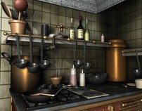 Don't You Eat That Ratatouille - Texturing & Lighting