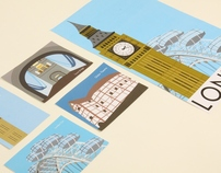 Travel Poster and Postcards