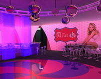 Alice in Wonderland: 15 year-old debut party