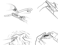 Robotic surgical tool gestures