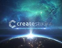 Animation: CreateStudios intro logo