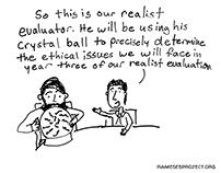 Illustrating Realist Evaluation