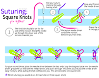 Square Knot Infographic