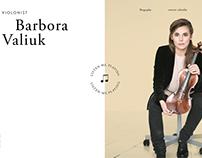 Barbora Valiukeviciute - Violinist