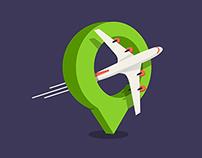 Travelocation Icon
