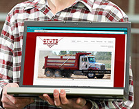 Stutz Excavating website