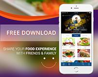 Foodgram-share your Food experience-Freebie