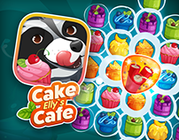 Elly's Cake Cafe (match three game)