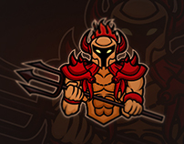 Hades Mascot Logo | For Sale