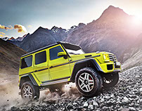 Mercedes-Benz G-Class Beauty Motifs (Delta Renderings)