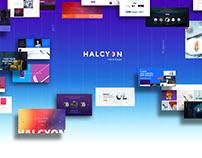 Halcyon - Modern Website Template | PSD | HTML5 | CSS3