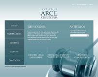Diseño web Estudio Arce