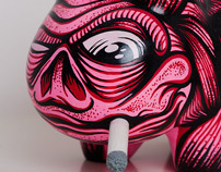 Smoking without skin makes less wrinkles