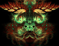 Visionary fractal art - Dragon