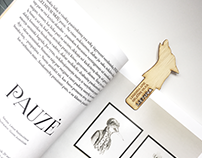 Souvenir bookmarks inspired by Lithuanian legends
