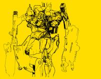 Sketches2:Robots®