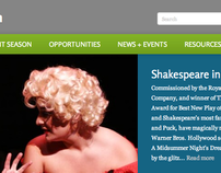 GMU Theater Website Redesign