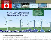 Canadian Renewable Energy Association Website