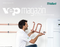 vep Logo and Magazine