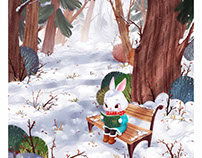 Rabbit Reads a Story
