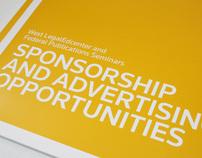 West LegalEdcenter Sponsorship Brochure