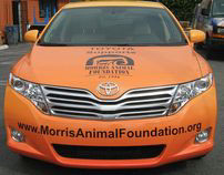 Morris Animal Foundation Vehicle Wrap