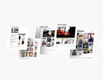 American Apparel: UI/UX Collection
