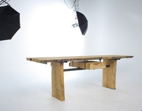 The 'Saxon' - Large Oak Table