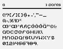 3 Ponts typeface