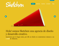 Sketchen - Design Studio ( Graphic Elements & Website )