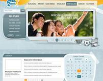 Genç Gelecek / Sancaktepe Belediyesi - Web Arayüz