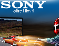Sony Bravia Banner Project