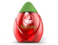 Twin Lotus mouthwash packaging