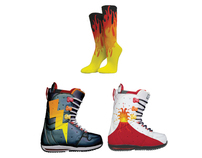 The Goddess Pele Snowboarding Collection