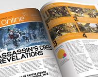Revista PS3W | diagramação