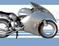 Rimless Wheel Motorcycle
