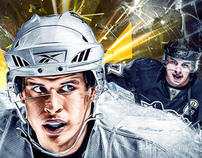 "Sydney Crosby ""Penguins Pittsburgh"""