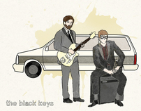Black Keys Print