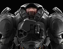 New render the medic armor