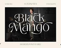 Black Mango Modern Display